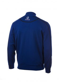 Sunderland 2 tone lined sweater rear view