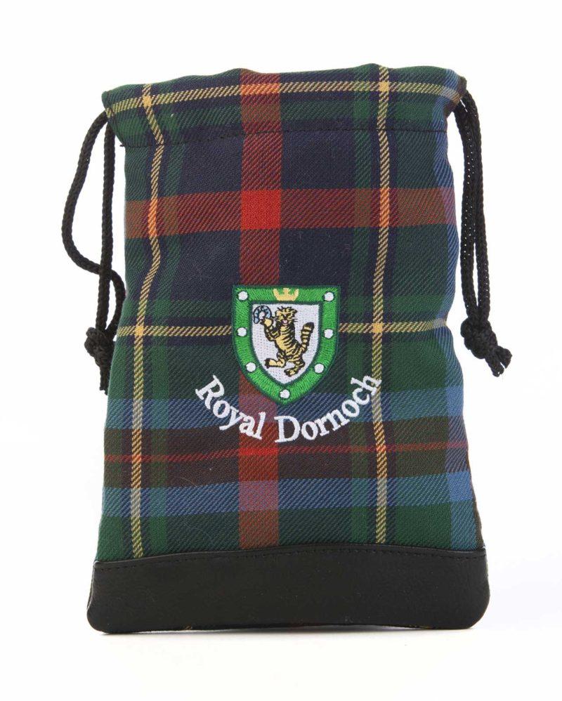 Royal Dornoch tartan tote bag
