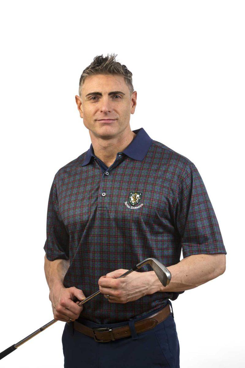 Donald Ross RD tartan shirt