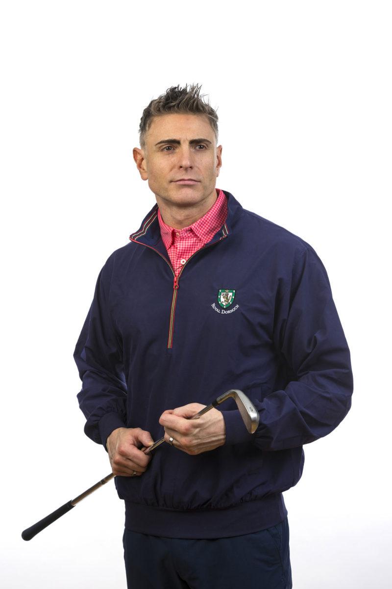 Donald Ross Tartan windshirt