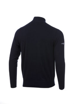Glenmuir Zip Saltire rear Navy