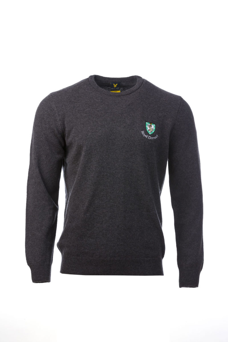Lyle & Scott Crew Neck Charcoal