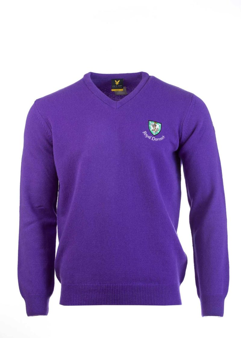 Lyle & ScottV Neck - Purple