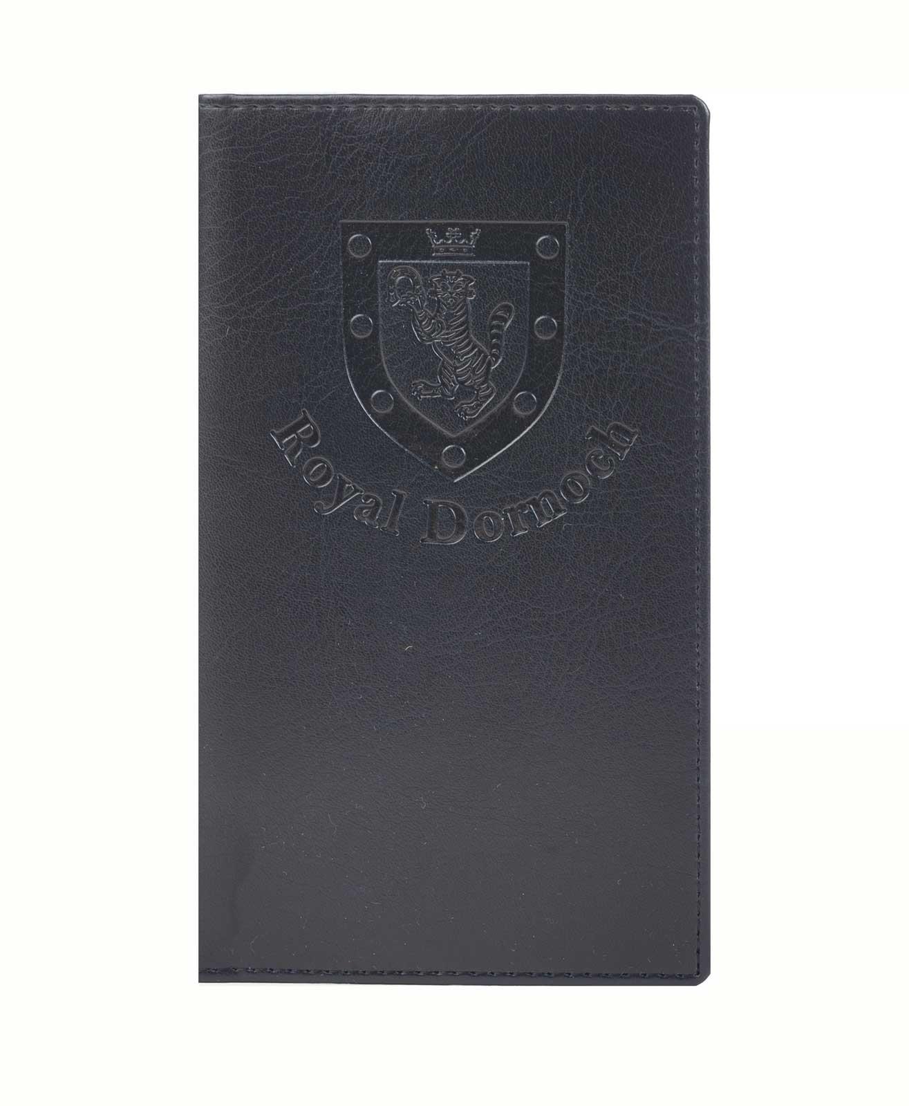 Leatherette Style Scorecard Holder With Embossed Logo