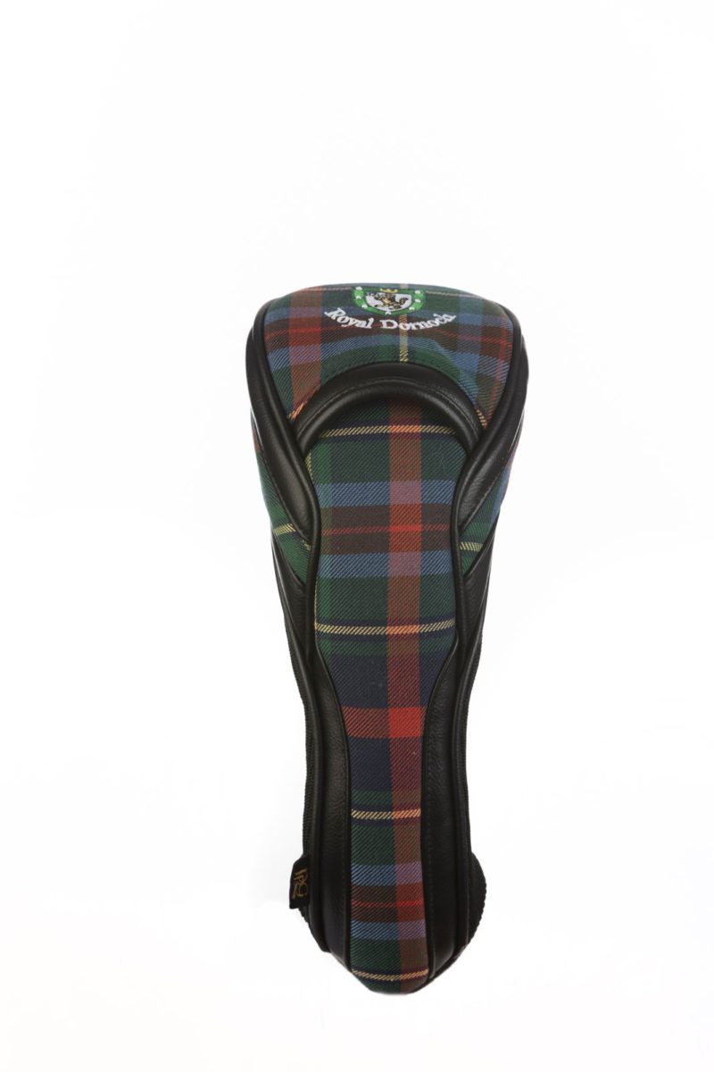 Royal Dornoch tartan cover side