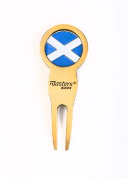 Double sided Pitchfork - Saltire reverse